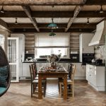 Дизайн кухни с элементами в стиле прованс