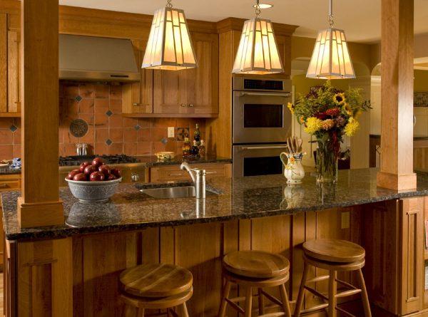 Идеи декорирования и освещения в стиле кантри.
