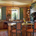 Кухня в стиле английского кантри