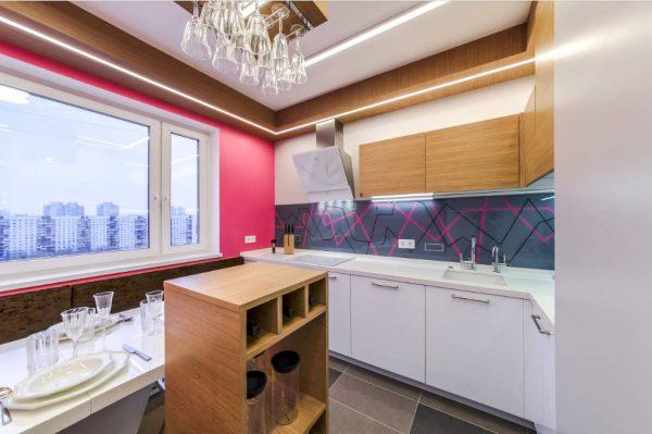 интерьер кухни 15 кв. метров