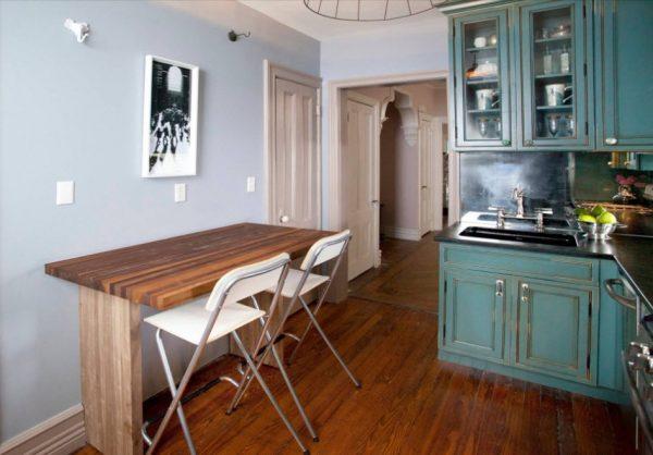 кухня прованс 13 кв. метров