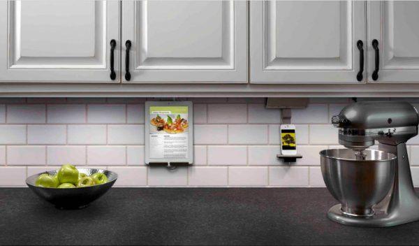 серая кухня 13 кв. метров