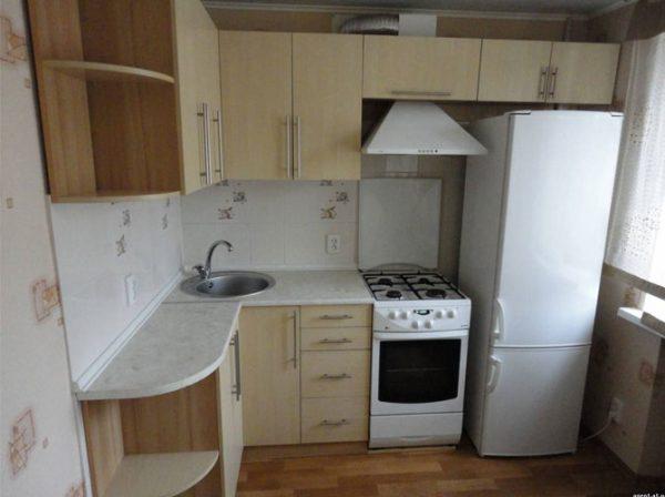 кухня 5 кв.метров в хрущёвке