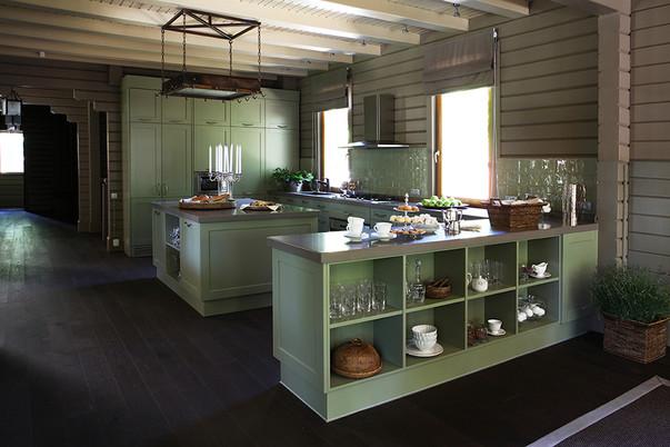 Интерьер кухни эконом класса — фото современного дизайна