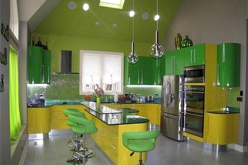 кухня на чердаке