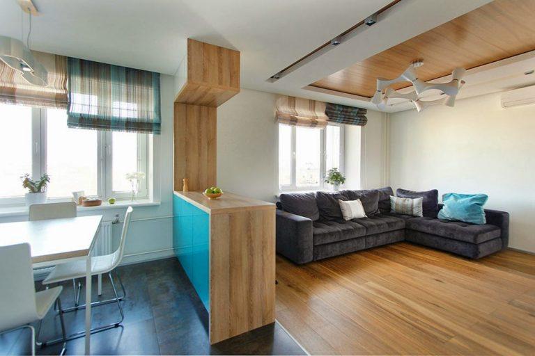 Небольшая кухня гостиная дизайн в небольших квартирах