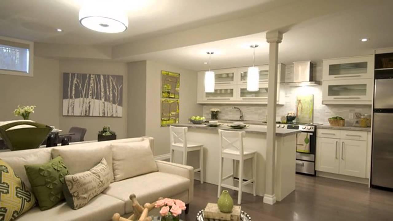 Интерьер дизайн гостиной кухни