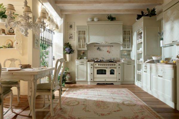в стиле прованс кухня