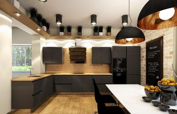 Декор кухни в стиле лофт