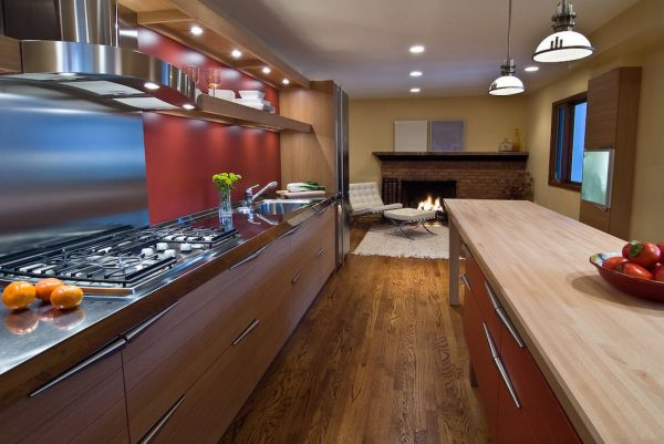 кухня в стиле модерн