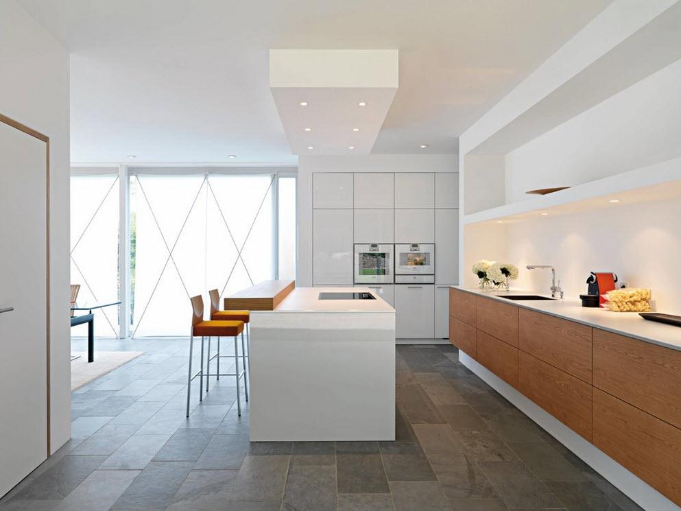 Кухня в стиле модерн — фото от дизайнеров