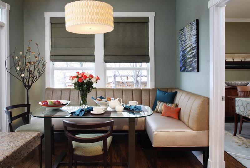 Кухонные уголки для кухни со столом и стульями фото