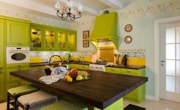 кухня лайм кантри