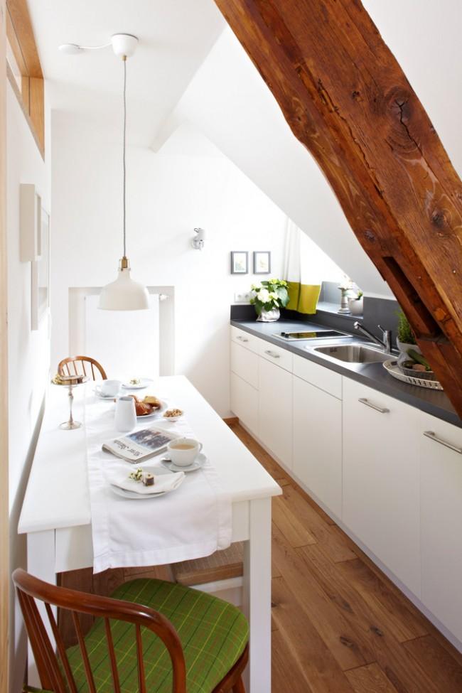 дизайн кухни 6 кв. м в современном стиле
