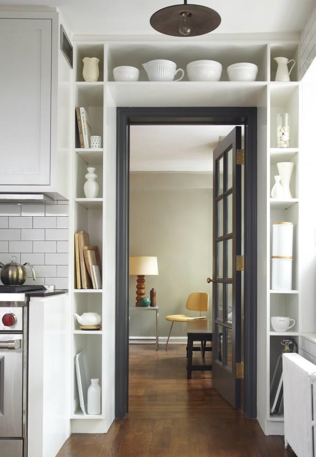 функциональное использование пространства у двери