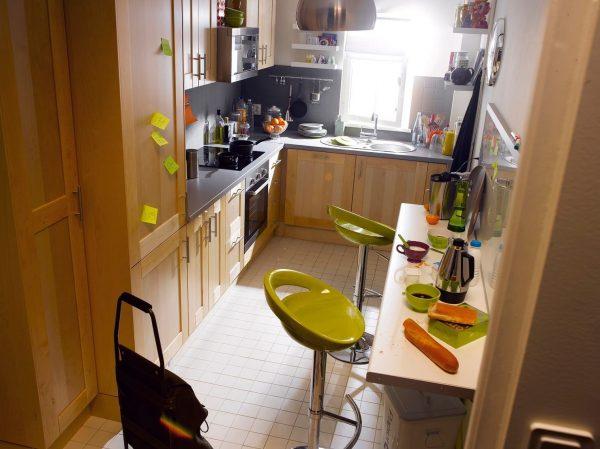 интерьер кухни 6 кв. метров