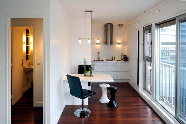 ремонт маленькой кухни 6 кв. метров