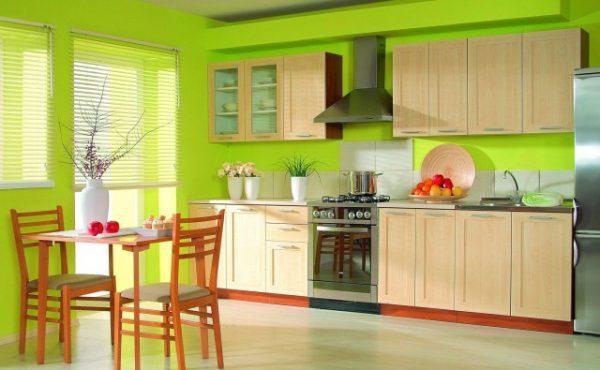ремонт на кухне стены