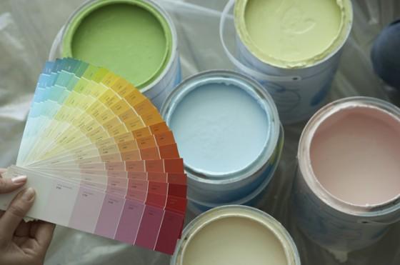 ремонт кухни - краска