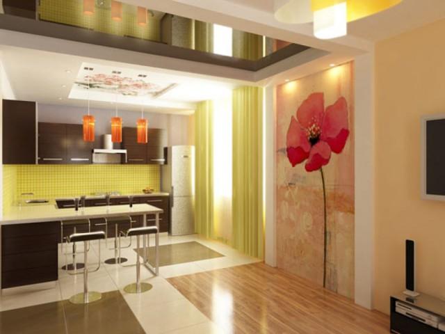 Ремонт кухни. Чем отделать стены и потолок на кухне?