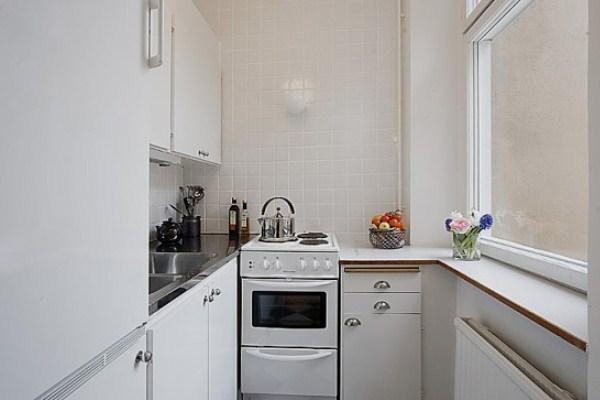 угловая кухня в хрущёвке