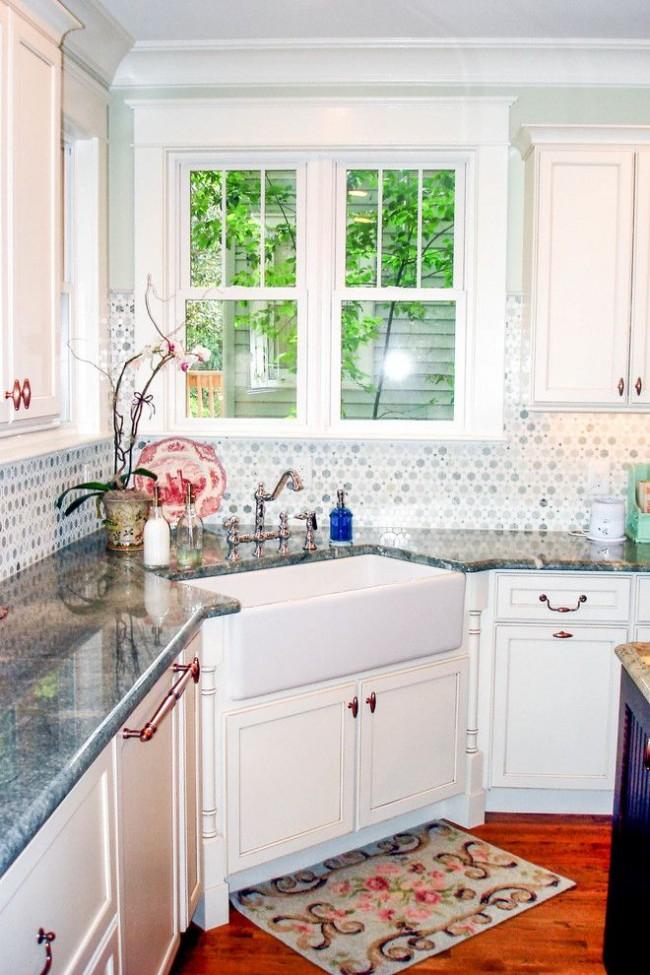 угловая мойка для кухни с прямой чашей
