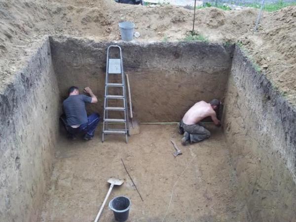 Как построить погреб на улице